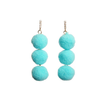 Bubblegum Candyfloss Earrings