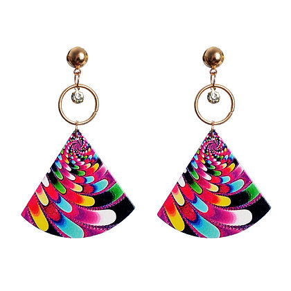 Technicolour Raver Earrings