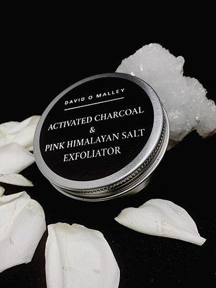 David O Malley Activated Charcoal & Pink Himalayan Salt Exfoliator