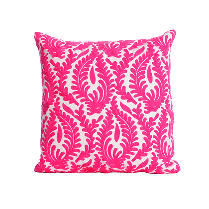 Fuchsia Foliage Cushion Cover