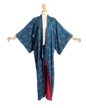 Sycamore Seedlings Vintage Kimono