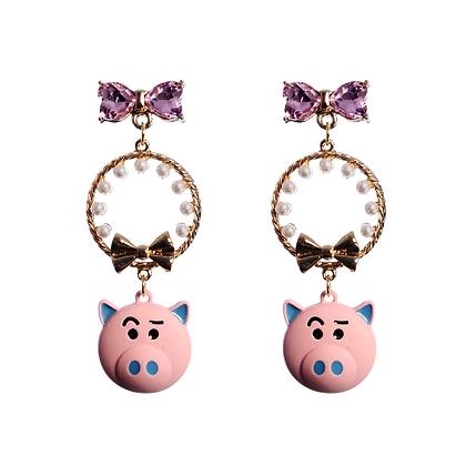 This Little Piggy Earrings