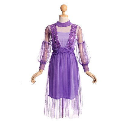 Imperial Purple Dress