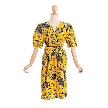 Cut The Mustard Vintage Dress