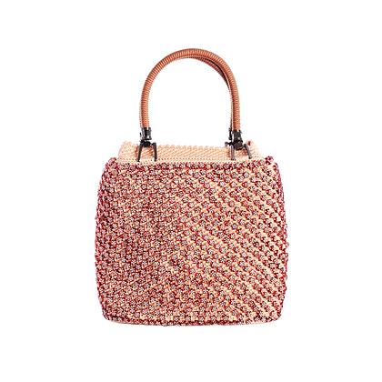 Autumn Cherry Vintage Bag