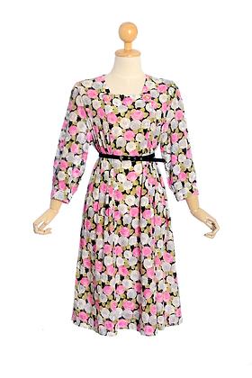 Tumble Rose Vintage Dress