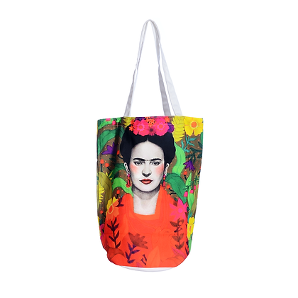 Botanical Frida Kahlo Tote