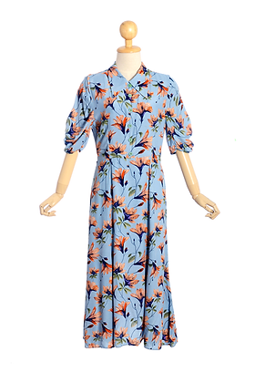 Gladiolus Vintage Dress