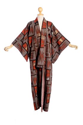 Ode to Rothko Vintage Kimono