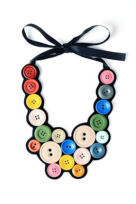 Button Me Up Necklace