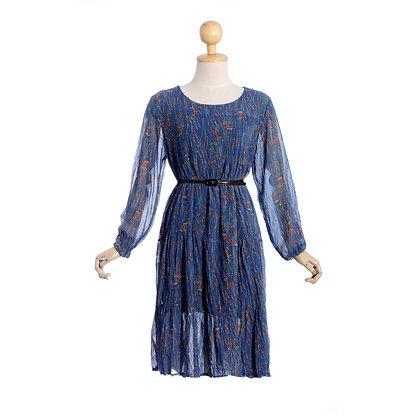 Midnight Hyacinth Dress
