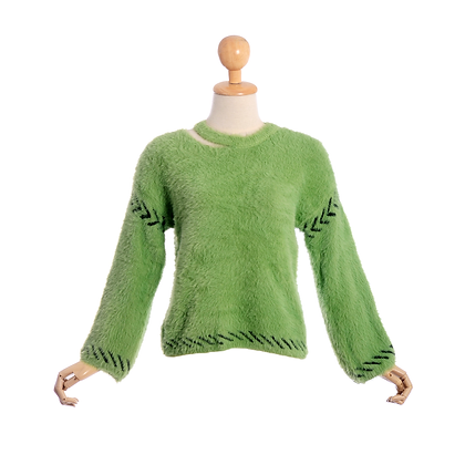 Modish Green Jumper