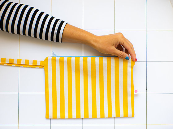 We Are Plop! Reversible Stripe Bag