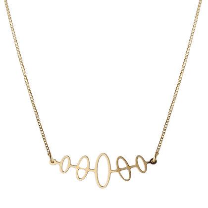 Aliquo Forbidden Planet Gold Necklace