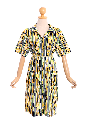 All About Abstract Vintage Dress