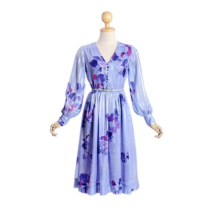 Lady in Lavender Vintage Dress
