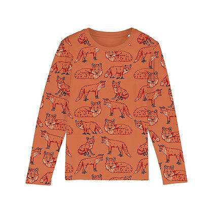 Fauna Kids Fox Long Sleeved T Shirt
