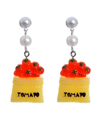 Tomato Pop Earrings