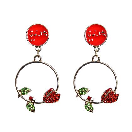 Ring A Ring o' Roses Earrings