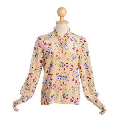Seasons in the Sun Vintage Blouse