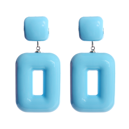 """Baby Blue Just for You"" Earrings"