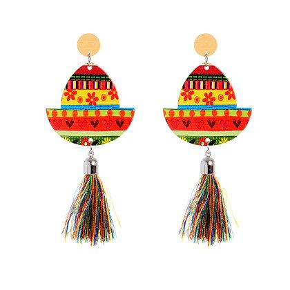 Sombrero Earrings