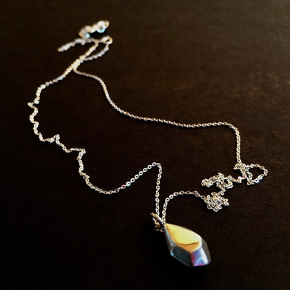 Nordic Root Silver Seed Chain