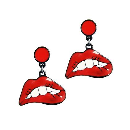 Hot Lips Earrings