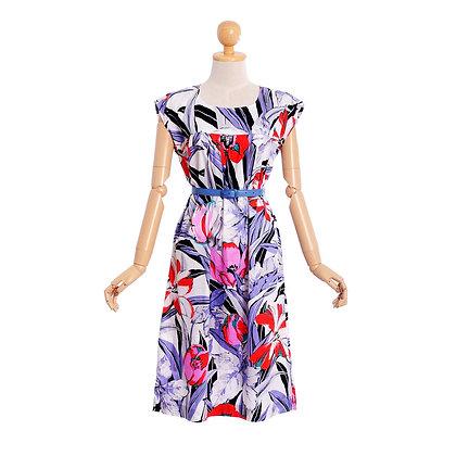 Tropical Tunic Vintage Dress