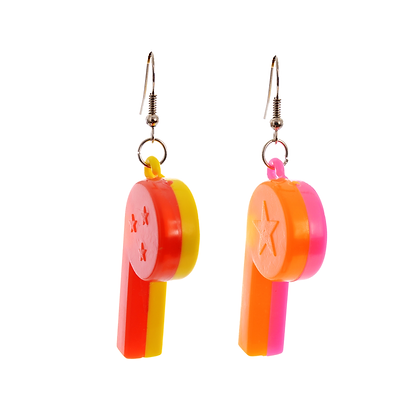 Whistle While You Werk Earrings
