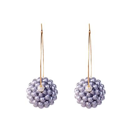 Silver Berry Earrings