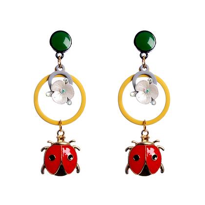 Lovely Ladybird Earrings