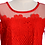 Thumbnail: Red Lace Blouse