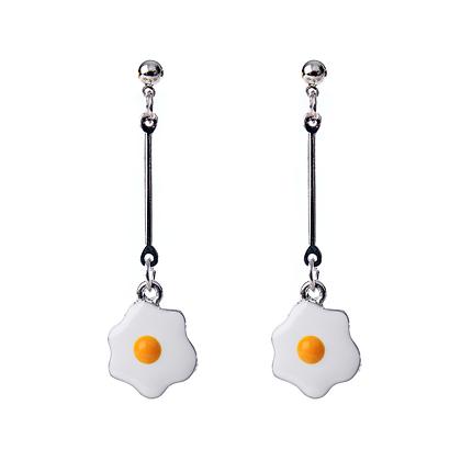 TGI Fried Egg Earrings