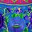 Thumbnail: Purple Pansy Embroidered Bag