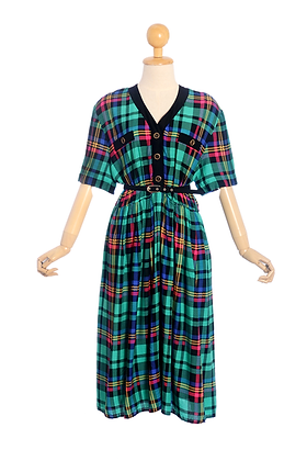 80's Working Girl Vintage Dress