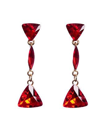 Mitzi Red Earrings