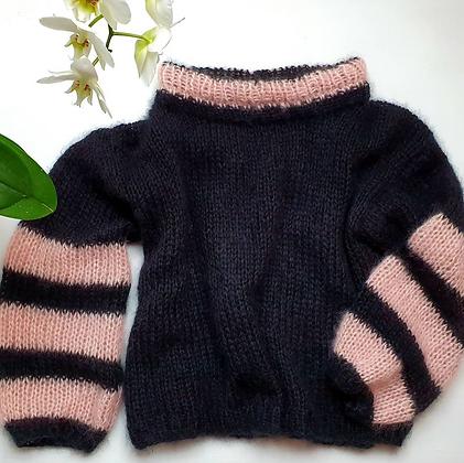 Knitted4Beasts Mohair Silk Cloud Jumper