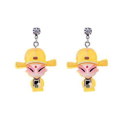 Mini Geisha Earrings
