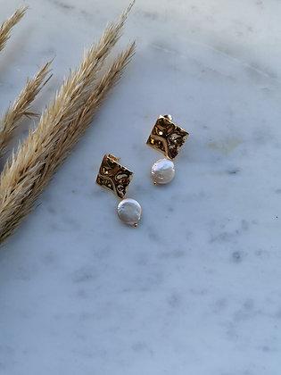 Tatiana Nestor Fields of Gold Earrings