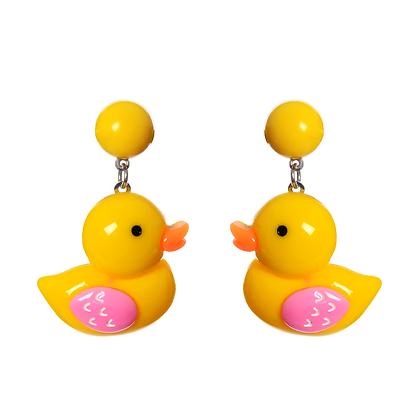 Rubber Duckie Earrings