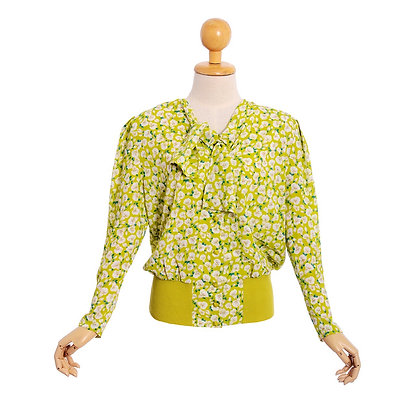 Lovely in Lime Vintage Bomber