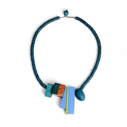 Abstract Bead Necklace