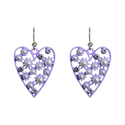 Lilac Lovers Earrings