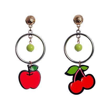Apple & Cherry Pie Earrings
