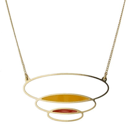 Aliquo Forbidden Planet Large Oval Necklace
