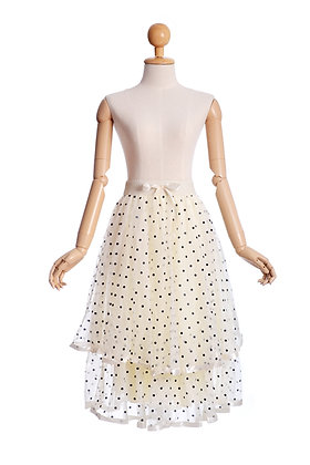 Polka Swing Skirt
