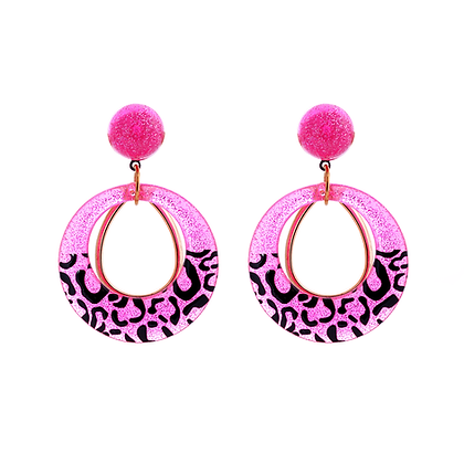 Fiesty Cheetah Earrings
