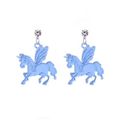 Flying Pegasus Earrings