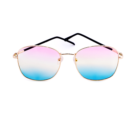 Blue & Pink Ombre Sunglasses